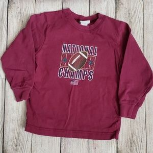 💥2/$4💥 Carter's football t-shirt
